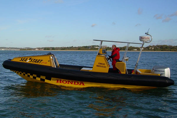 Sea Start 3 Rescue RIB